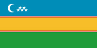 флаг Каракалпакии